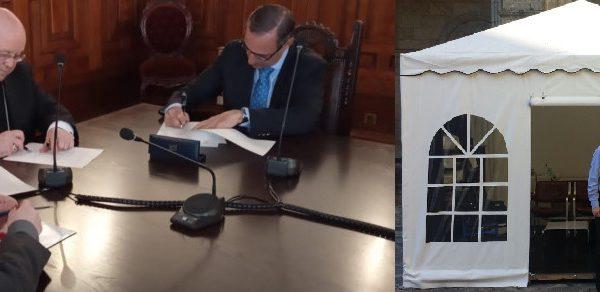 firma convenio compostela