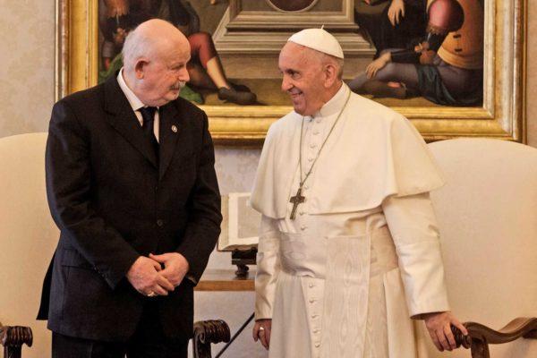 Papa Francisco y Orden de Malta